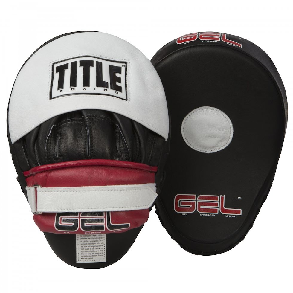 ЛАПЫ TITLE GEL WORLD CONTOURED PUNCH MITTS